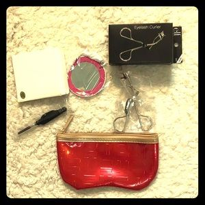👜Clinique Makeup Bag, elf eyelash curler n more🎄